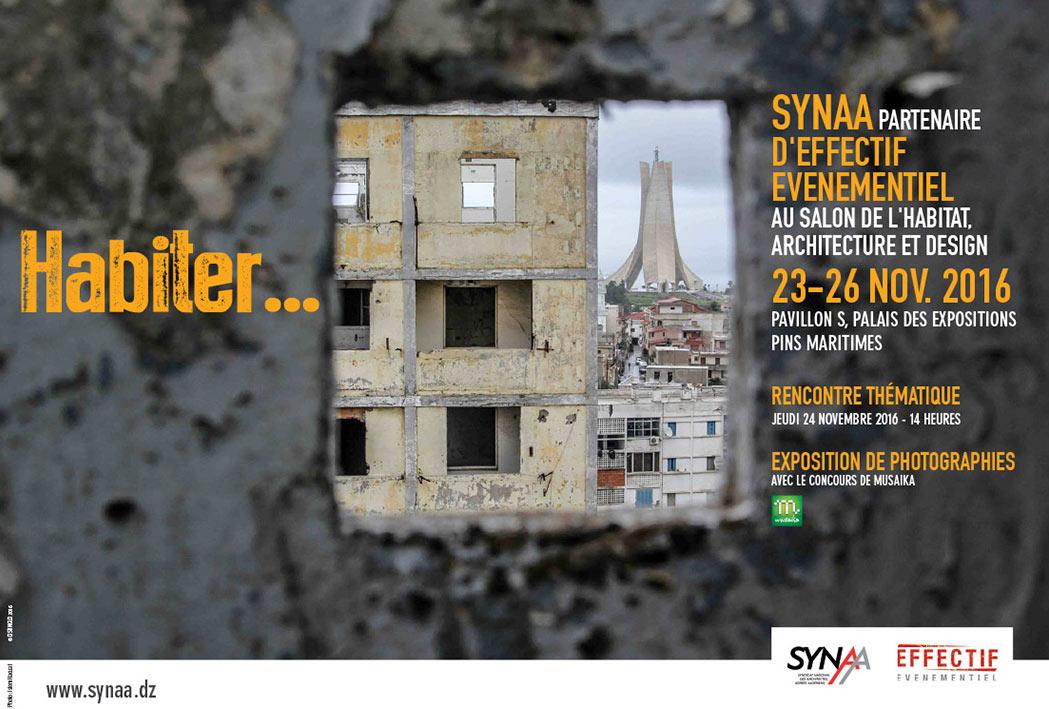 SYNAA partenaire d'EFFECTIF-EVENTS au salon de l'Habitat, Architecture et Design
